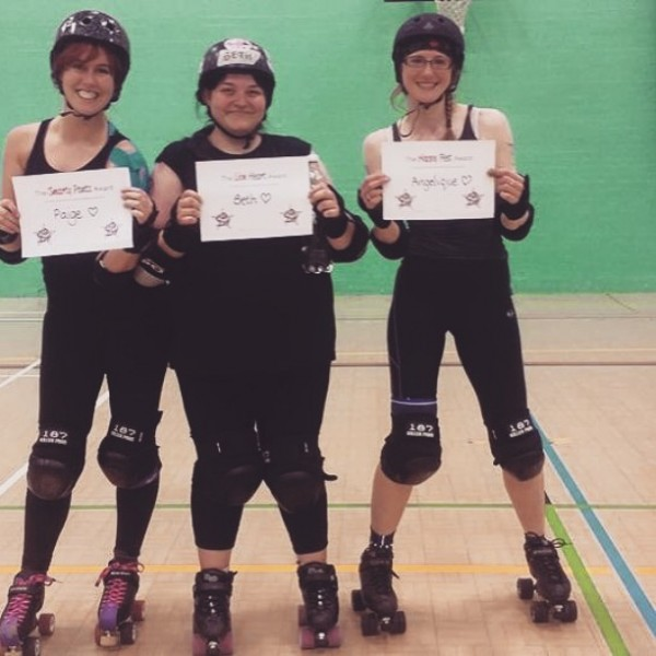 Beth first scrim award