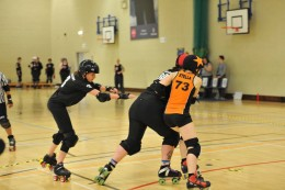 Do you activate your glutes when playing roller derby?